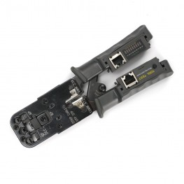4P/6P/8P Modular Crimp Tool with Network Tester
