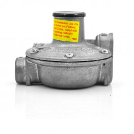 Explosion proof low pressure natural gas regulator