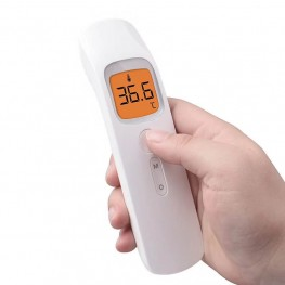 Light weight portable temperature controller non-contact infrared forehead thermometers for human beings
