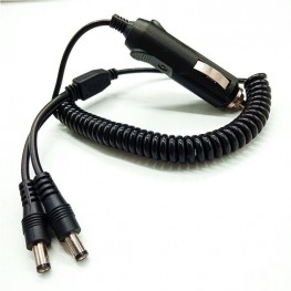 12V Car cigarette lighter extension cable