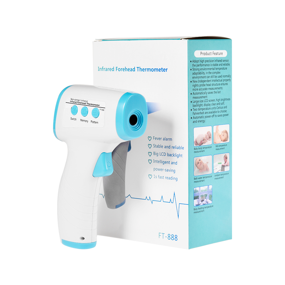 Baby/Adult Forehead Thermometer Non touch Infrared Thermometer Covid 19 Test Termometro Digital Temporal Thermometer Gun